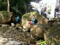 Bij de Agyle watervallen